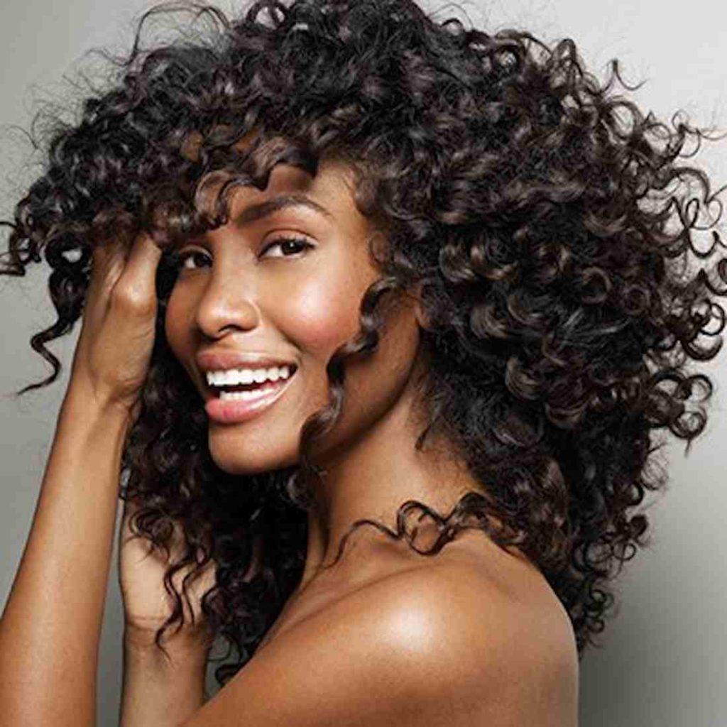 Как сделать волнистыми волосы фото