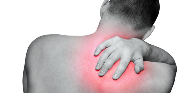 Болит левое плечо и шея слева