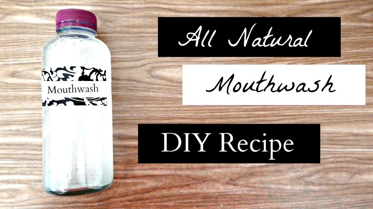 Easy Homemade Antibacterial Mouthwash — HealthDigezt.com